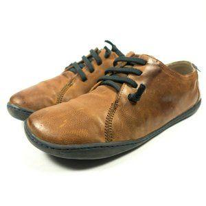 Camper Peu Leather Sneakers